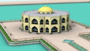 مدل سه بعدی عمارت ایل گلی