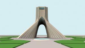 مدل سه بعدی میدان آزادی