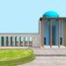 مدل سه بعدی آرامگاه سعدی